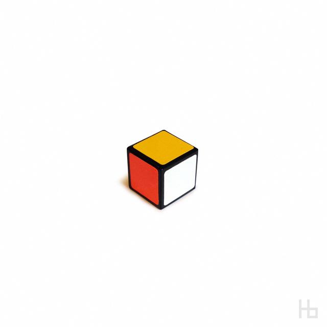 1x1 cube from Jaco Haasbroek